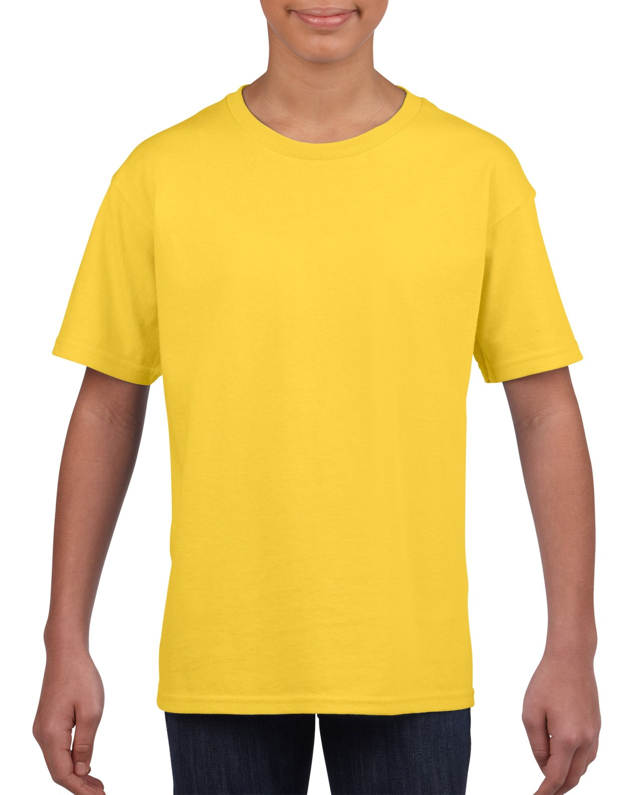 Camiseta Amarilla de Algondón 100%