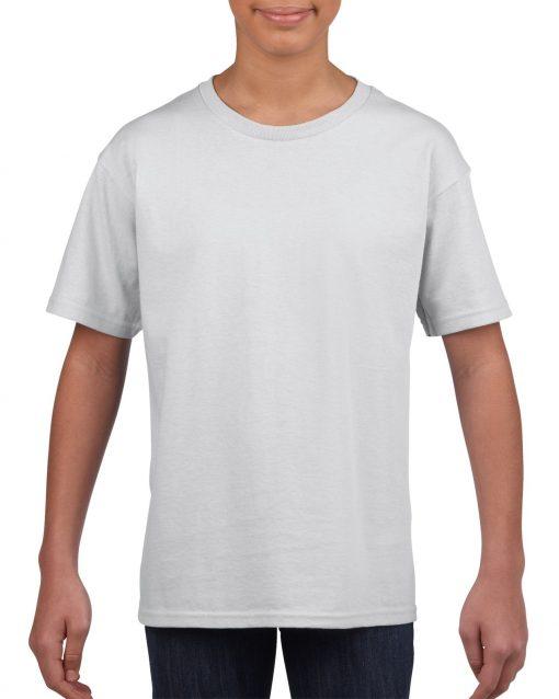 Camiseta Blanca Algondón niño