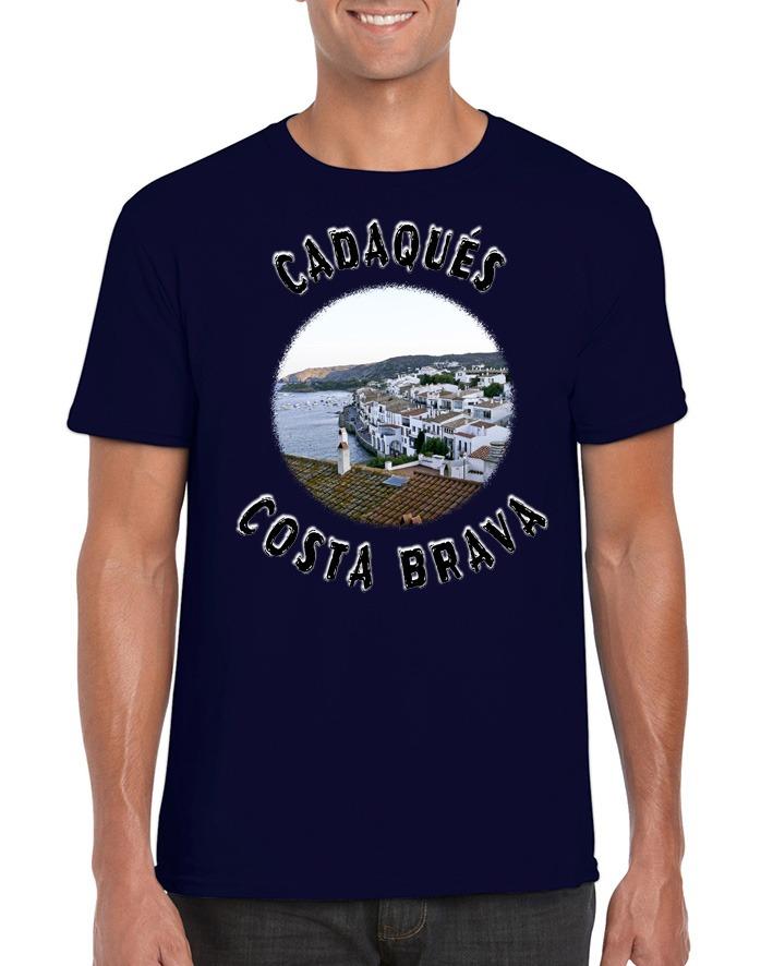 camiseta con imagen cadaques