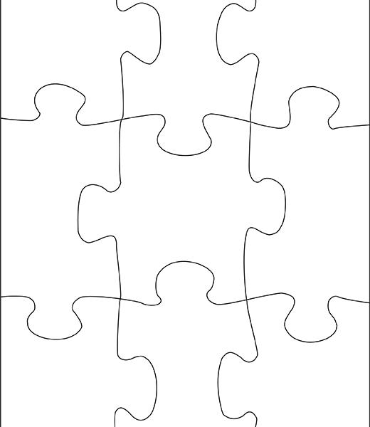 Puzzle personalizable 9 piezas para ni os vertical - Puzzles para ninos pequenos ...