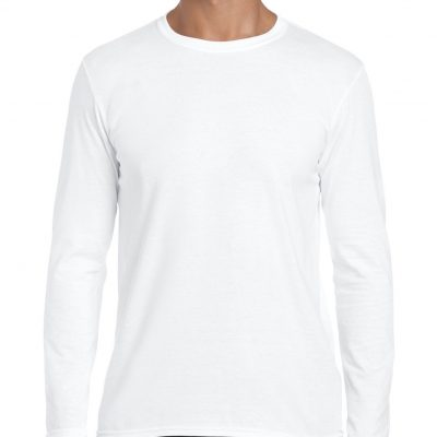 camiseta manga hombre larga personalizable