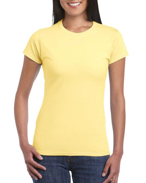 amarillo personalizar camiseta mujer barcelona